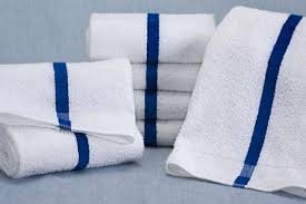 blue stripe towels (11k)
